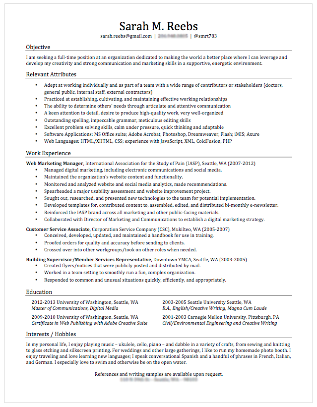 I need some help with my resume!?